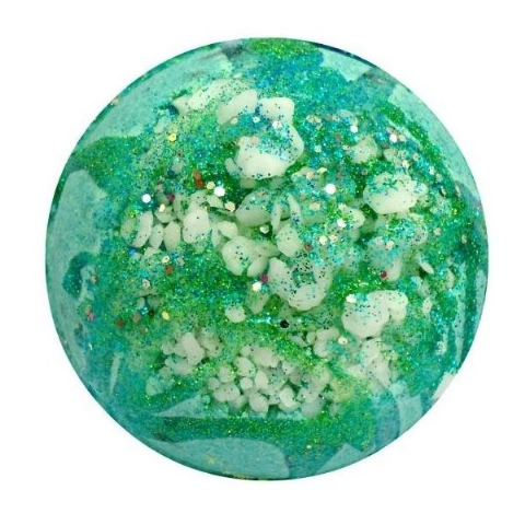 Archangel Raphael Malachite Crystal Geode Bath Bomb
